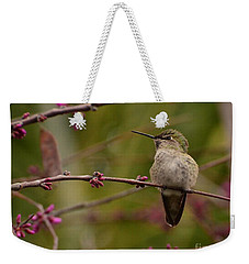 Watching Spring Arrive Weekender Tote Bag