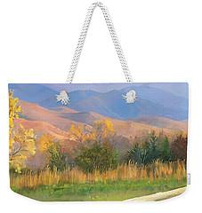 Watching The Field  Weekender Tote Bag