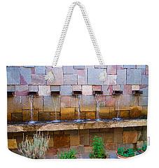 Water Art Weekender Tote Bag