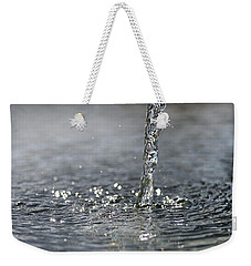 Water Beam Splashing Weekender Tote Bag