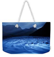 Water Blues Weekender Tote Bag