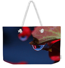 Water Coloured Rhapsody Weekender Tote Bag by Marija Djedovic