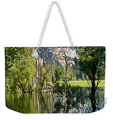 Water Fall Weekender Tote Bag by Menachem Ganon