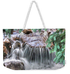 Water Falling I Weekender Tote Bag by Lanita Williams