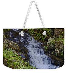 Water Falling Weekender Tote Bag