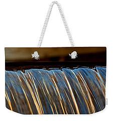 Water Falls Edge 3 Weekender Tote Bag