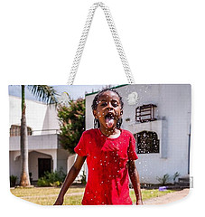 Water Fun, Nigeria Weekender Tote Bag