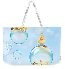 Water Games Weekender Tote Bag by Veronica Minozzi