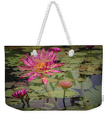 Water Garden Dream Weekender Tote Bag