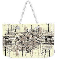 Water  Graph Weekender Tote Bag