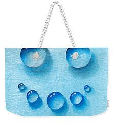 Water Happy Face Weekender Tote Bag
