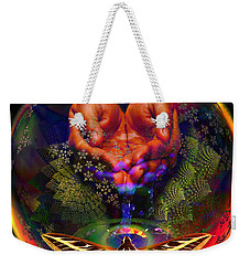 Water Is The Spice Weekender Tote Bag by Joseph Mosley