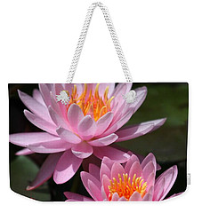 Water Lilies Love The Sun Weekender Tote Bag