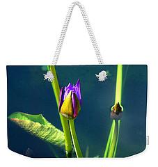 Water Lily 005 Weekender Tote Bag
