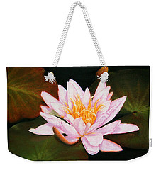 Water Lily Weekender Tote Bag by Marna Edwards Flavell
