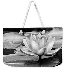 Water Lily Weekender Tote Bag by Michelle Joseph-Long