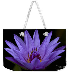 Weekender Tote Bag featuring the photograph Water Lily Photo by Meg Rousher