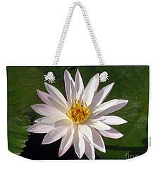 Water Lily Weekender Tote Bag by Sergey Lukashin