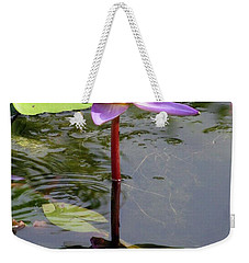 Water Lily - Shaded Weekender Tote Bag
