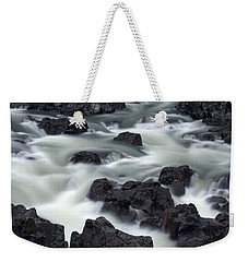 Water Over Rocks Weekender Tote Bag