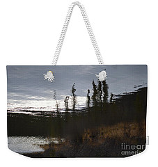 Weekender Tote Bag featuring the photograph Water Paint by Brian Boyle