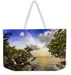 Water Sky Weekender Tote Bag