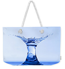 Water Splash Weekender Tote Bag by Anthony Sacco