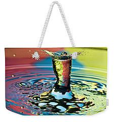 Water Splash Art Weekender Tote Bag