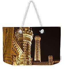 Water Tower At Night Weekender Tote Bag