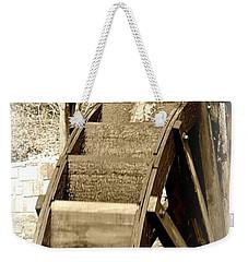 Water Wheel Weekender Tote Bag