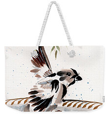 Water Wings Weekender Tote Bag by Bill Searle