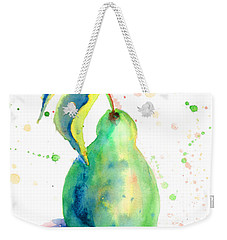 Watercolor Illustration Of Pear  Weekender Tote Bag