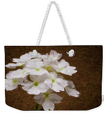 Watercolor Of Daisies Weekender Tote Bag