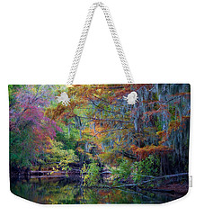 Watercolors Weekender Tote Bag by Lana Trussell