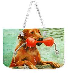 Waterdog Weekender Tote Bag