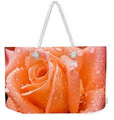 Watered Rose Weekender Tote Bag