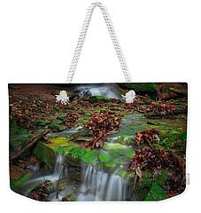 Frankfort Mineral Springs Waterfall  Weekender Tote Bag