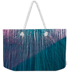Waterfall Abstract Weekender Tote Bag