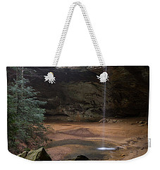 Waterfall At Ash Cave Weekender Tote Bag by Dale Kincaid