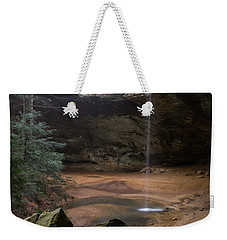 Waterfall At Ash Cave Weekender Tote Bag