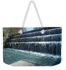 Weekender Tote Bag featuring the photograph Waterfall Heaven by Emmy Marie Vickers