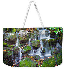 Waterfall In Marlay Park Weekender Tote Bag by Semmick Photo