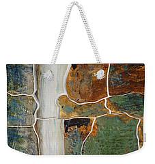 Waterfall Slate Weekender Tote Bag