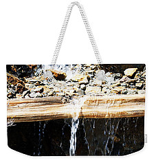 Waterfall Steps Weekender Tote Bag