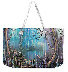 Waterfall Valley Weekender Tote Bag