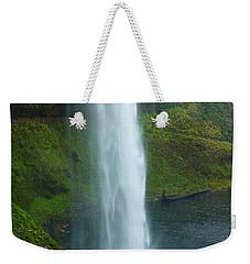 Waterfall View Weekender Tote Bag by Susan Garren