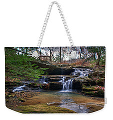 Waterfalls Cascading Weekender Tote Bag