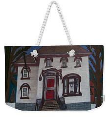 Historic 7th Street Home In Menominee Weekender Tote Bag