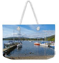 Waterhead - Ambleside - English Lake District Weekender Tote Bag by Phil Banks