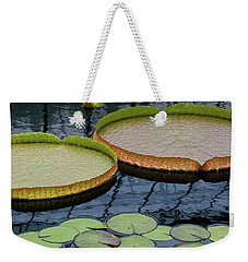 Waterlilies And Platters 2 Weekender Tote Bag